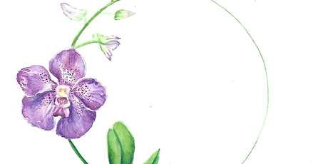 Intro to Orchid Watercolor Painting tickets