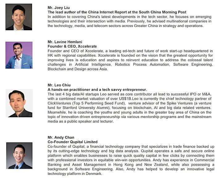 AI Society X SCMP  X Xccelerate: China Internet Report (Livestream) image