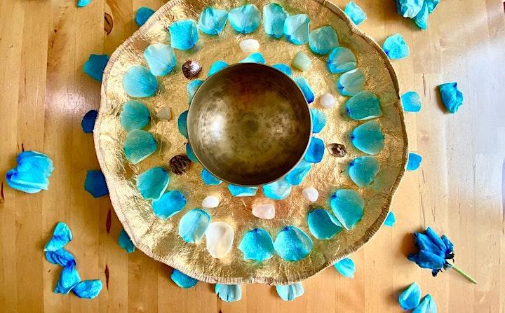 Flower Mandala and Singing Bowl Meditation Workshop image