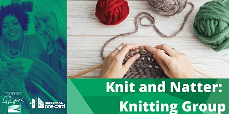 Knit and Natter's at Civic Centre Library tickets