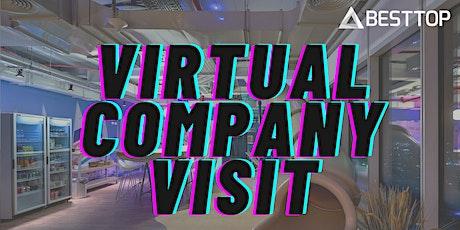 Virtual Company Visit tickets