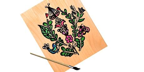 Folk Art Painting Workshop tickets