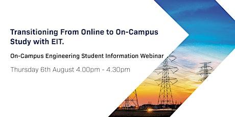 On-Campus Engineering Student Webinar - August 2020 tickets