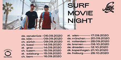 Cine Mar - Surf Movie Night Sommer Tour 2020 Münster Tickets