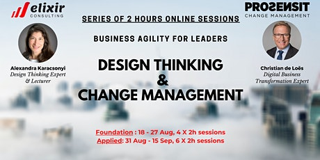 Business Agility for Leaders: Design Thinking+Change Management/Foundation tickets