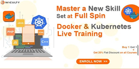 Docker & Kubernetes Certification Training | Online - Paid Training | biglietti