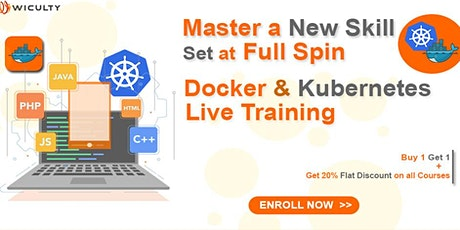 Docker & Kubernetes Certification Training   Online - Paid Training Weekend tickets