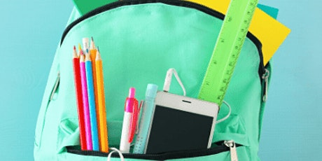 Dunedin Parks & Recreation Back to School Backpack & School Supply Giveaway tickets