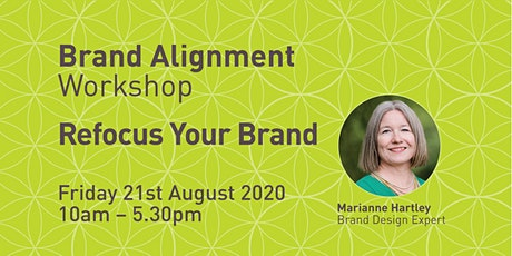 Brand Alignment Workshop - Refocus Your Brand tickets