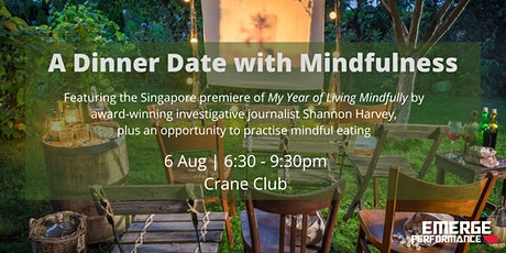A Dinner Date with Mindfulness tickets