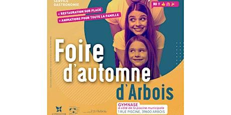 FOIRE D'AUTOMNE D'ARBOIS billets