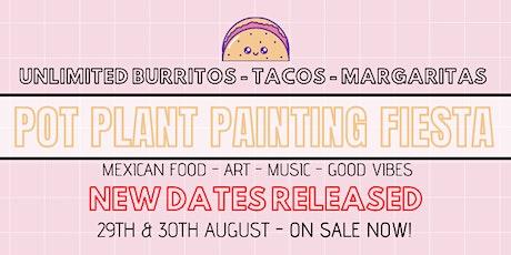 Mexican Pot Plant Painting Fiesta SECRET LOCATION tickets