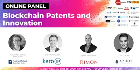 Blockchain Patents and Innovation (Online Panel) biglietti