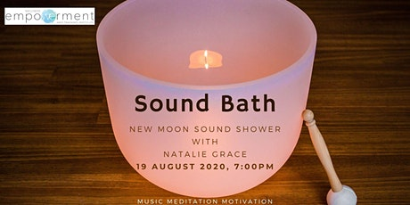 NEW MOON - SOUND SHOWER tickets