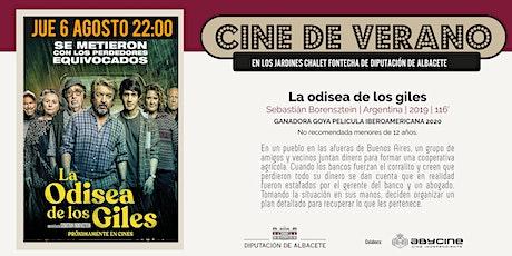 CINE DE VERANO Jardines Fontecha    La odisea de los giles (6 AGOSTO) entradas