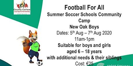 Football For All Summer Soccer Schools Community C tickets