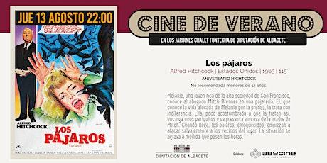 CINE DE VERANO Jardines Fontecha |  Los pájaros (V.O.S.E.) (13 AGOSTO) entradas