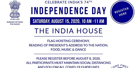 India's 74th Independence Day tickets