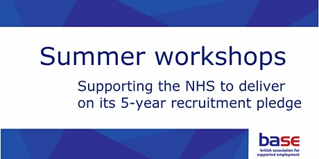 Supporting the NHS to deliver on its 5-year recruitment pledge tickets