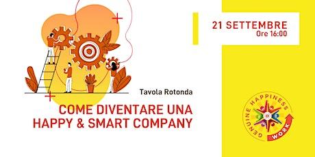 #IWHAW2020 Tavola Rotonda: Come diventare una Happy e Smart Company biglietti