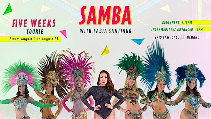 Samba with Fabia Santiago image
