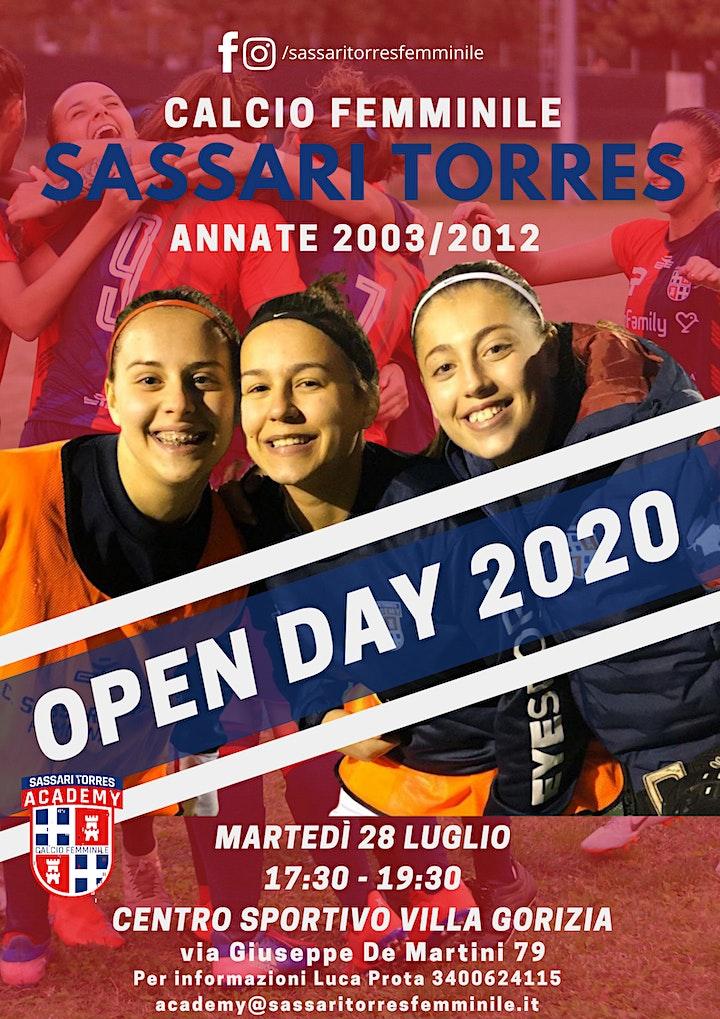 Immagine Open Day Sassari Torres Femminile
