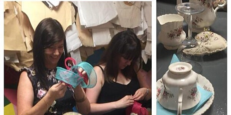Millinery Class with  Tea Treats - Temple Bar tickets