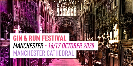 The Gin and Rum Festival - Manchester - 2020 tickets