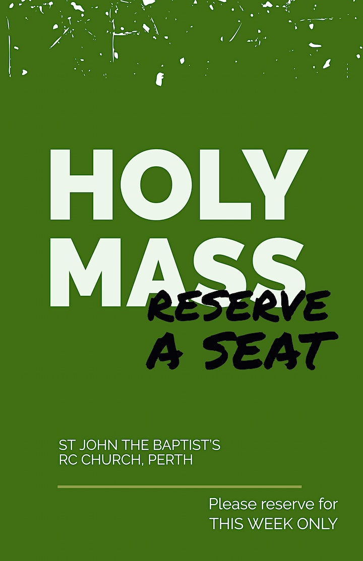 4pm, Holy Mass (Anticipated) image