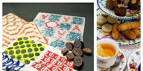 Printing  Class with Tea Treats - Temple Bar tickets