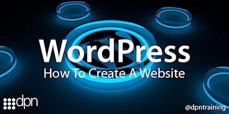 How To Create  A Website Using WordPress - Somerset / Wiltshire / Bristol tickets