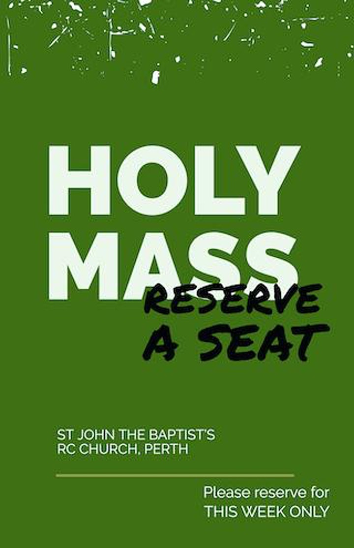 6.30pm, Holy Mass image