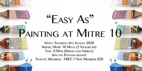 "TYP ""Easy As"" Painting at Mitre 10 MEGA tickets"