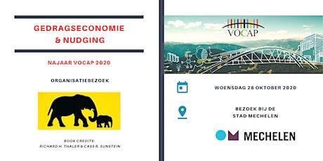 VOCAP Reeks Gedragseconomie & Nudging | Deel 3: Organisatiebezoek tickets