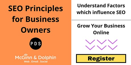The Fundamental Principles of SEO for Business Owners tickets