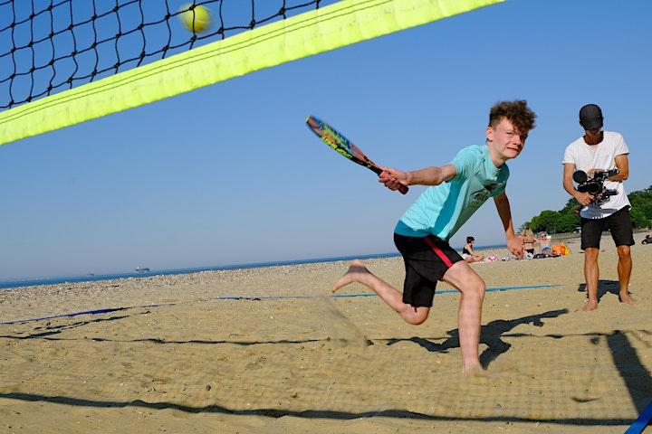 Beach Tennis Community Coaching image