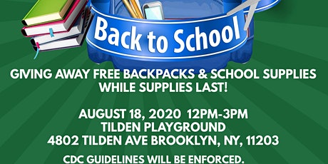 2020 Back to School Event tickets