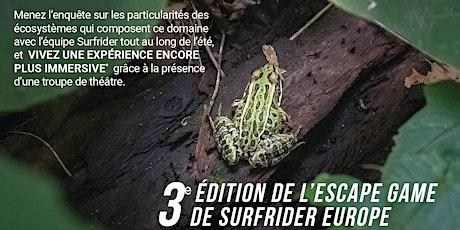"""Escape game """" En-quête de nature """", les enjeux environnementaux billets"""