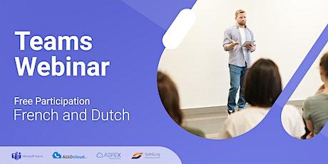 Microsoft Teams  Webinar (NL) - met Aspex tickets