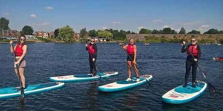 Ladies Stand up paddleboarding coached session tickets