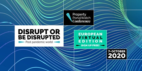 Property Portal Watch Conference Europe 2020 - Virtual Edition tickets