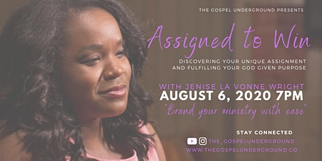 Assigned to WIN! Discovering Your Assignment to Fulfill Your Purpose tickets