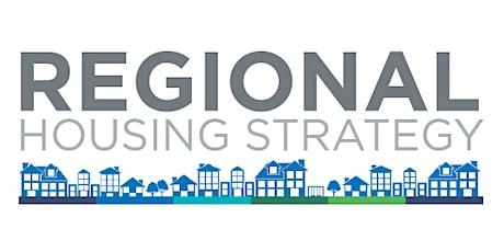 Regional Housing Strategy tickets