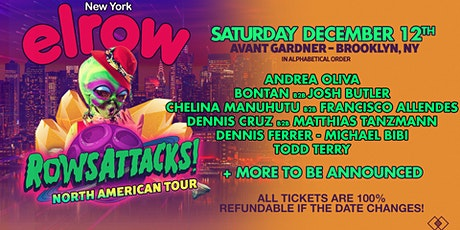 elrow NYC - RowsAttacks! tickets