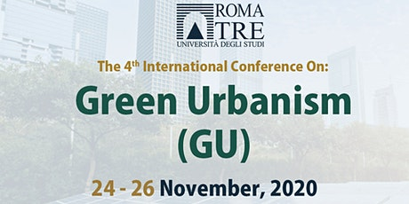 Green Urbanism (GU) – 4th Edition-Online conference tickets