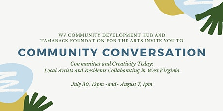Community Conversation: Communities and Creativity Today tickets
