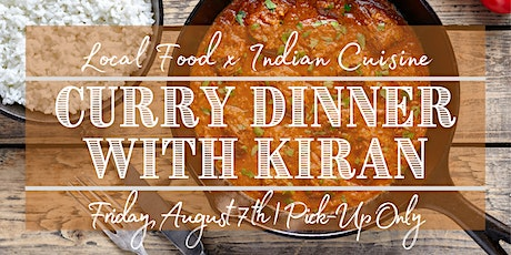 Curry Dinner With Kiran tickets