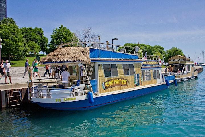 Open Bar Sunset Tiki Cruise on Lake Michigan image