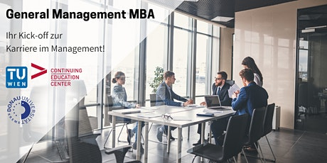 Karriere Kick-off: Online Info-Session General Management MBA Tickets