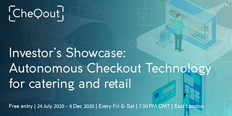 Autonomous Checkout Technology Showcase for Investor tickets